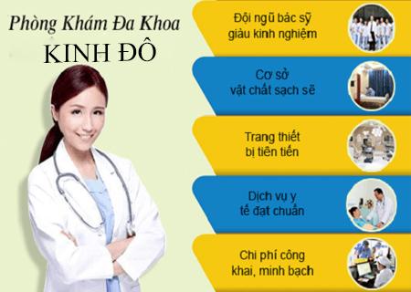 Phòng khám Kinh Đô hỗ trợ điều trị sùi mào gà hiệu quả