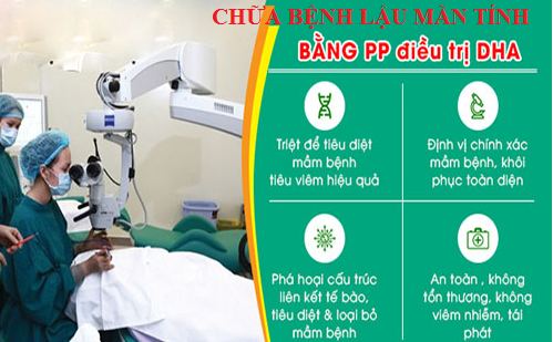y thuật phục hồi viêm nhiễm hệ tiết niệu gen DHA điều trị bệnh lậu hiệu quả