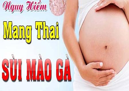 Sùi mào gà khi mang thai vô cùng nguy hiểm