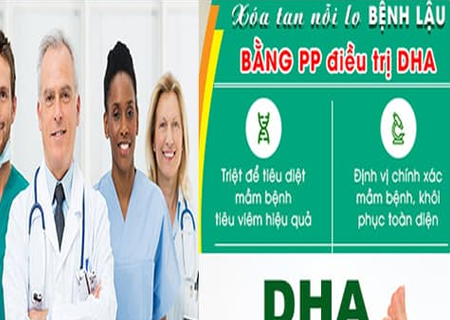 Điều trị bệnh lậu bằng phương pháp DHA an toàn