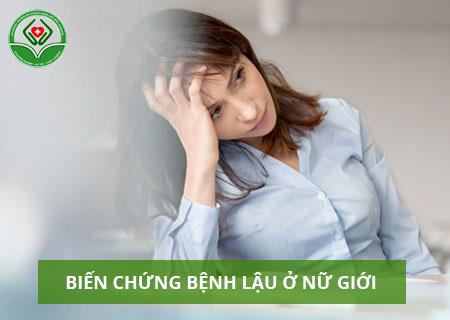 Các biến chứng của bệnh lậu ở nữ giới