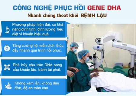 Điều trị lậu hiệu quả bằng liệu pháp DHA
