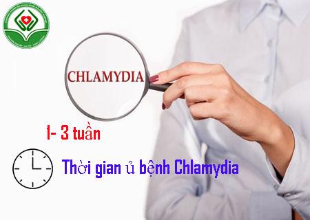Thời gian ủ bệnh chlamydia