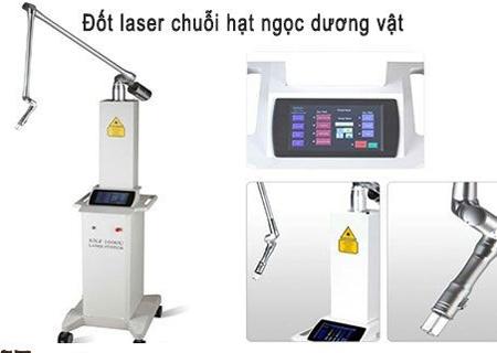 Đốt laser chuỗi hạt ngọc dương vật hiệu quả